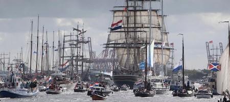 Salonboot huren Sail Amsterdam 2020
