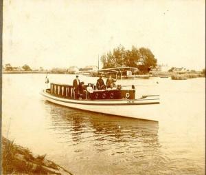 Salonboot Amsterdam geschiedenis Avanti grachten
