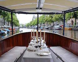 Salonboot Avanti huren in Amsterdam gelegenheden blok