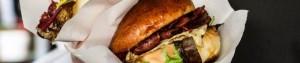 Build your own burger arrangement Salonboot Avanti op de Amsterdamse grachten