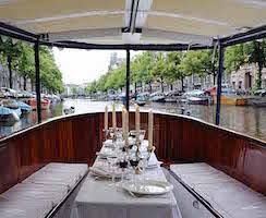 Menu varend restaurant Amsterdam, Arrangementen, lunch, diner, high tea,