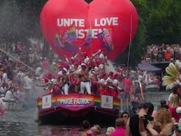 Gaypride boot huren gay pride gay parade amsterdam