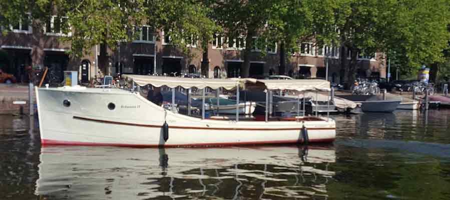 Salonboot Brittannia tot 12 personen