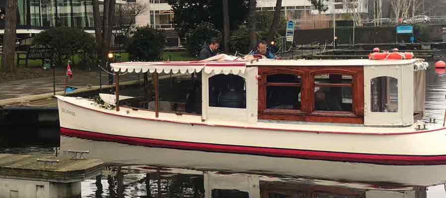 Salonboot Delphine tot 12 personen
