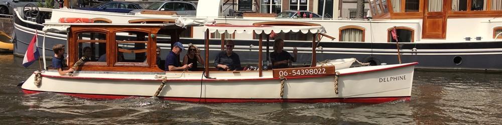 Prive salonboot huren Amsterdam